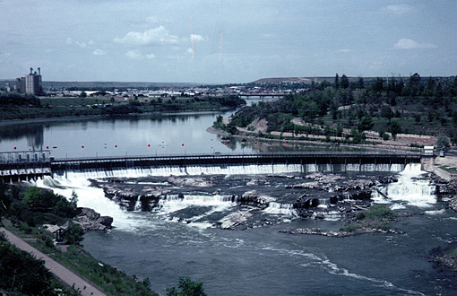 Eagle Dam bei Great Falls